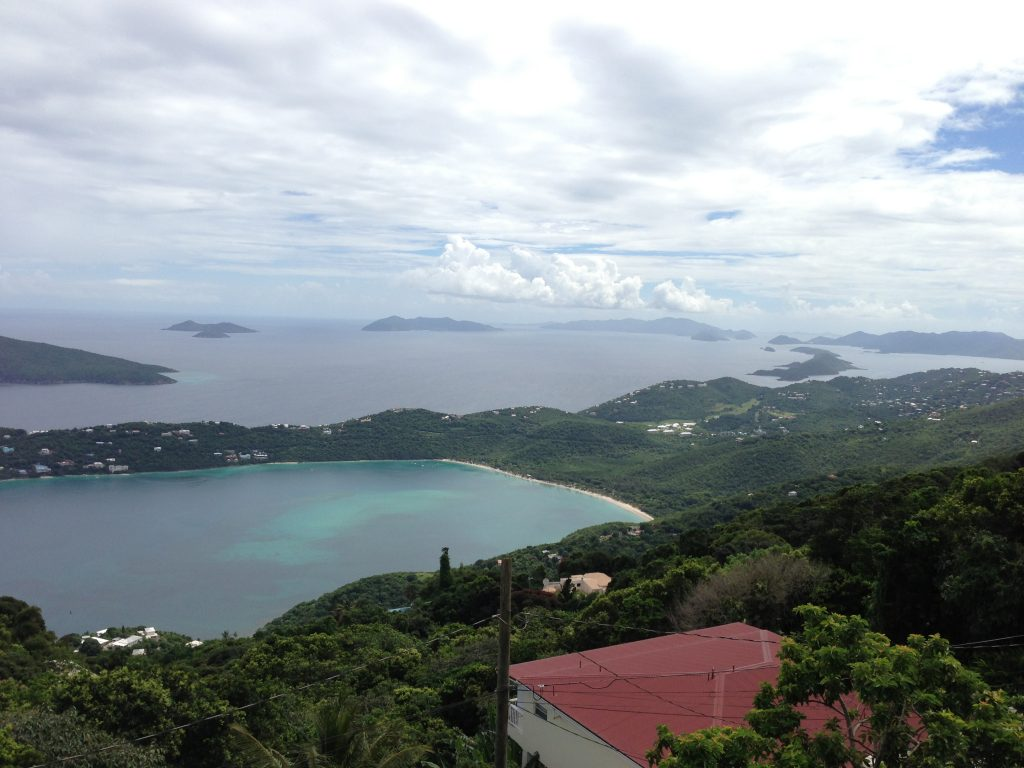 A view of Magen's Bay, considered one of the top beaches in the world
