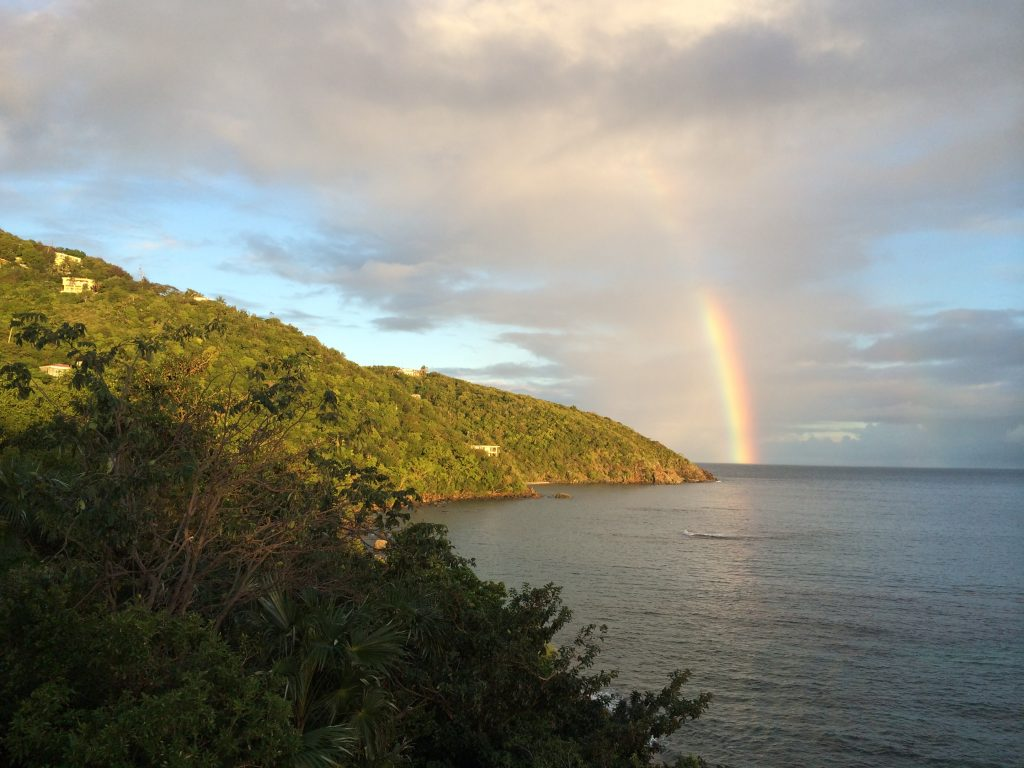 Rainbow at Magen's Bay