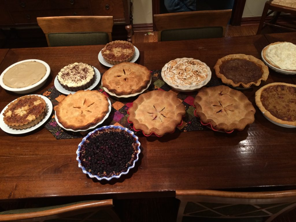 Thanksgiving Pie - 2015